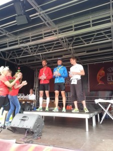 Prispallen H40-44: Triathlon Väst 1:a, 2:a 3:a!