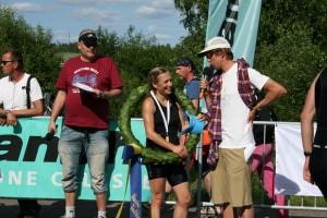 Seger-intervju med Katarina i Vansbro